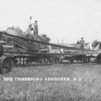 1912 Threshing