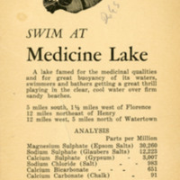 Medicine Lake Brochure
